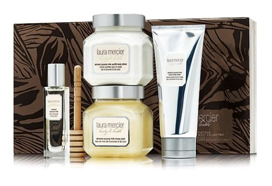 Holiday Sweet Temptations Almond Coconut Milk Luxe Body Collection
